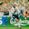 Signed Paul Gascoigne England Photo