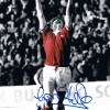 Signed Gordon Hill Manchester United Photo
