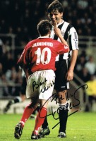 Signed-Philippe-Albert-Newcastle-United-Autographed-Photo-Proof-Belgium-271907939928