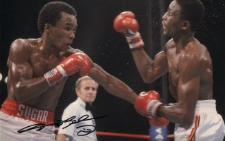 Signed-Sugar-Ray-Leonard-Autograph-Boxing-Photo-271889582387