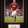 Signed-Wayne-Rooney-Manchester-United-Mounted-Autograph-Card-Photo-England-271897893210