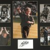 Signed Kevin Keegan Newcastle Photo