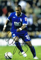 Signed Marcus Bent Birmingham City Photo