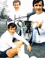 Signed Alan Mullery Tottenham Photo