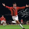Signed Teddy Sheringham Manchester United 1999 Photo
