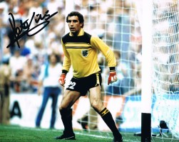Signed Peter Shilton England Photo