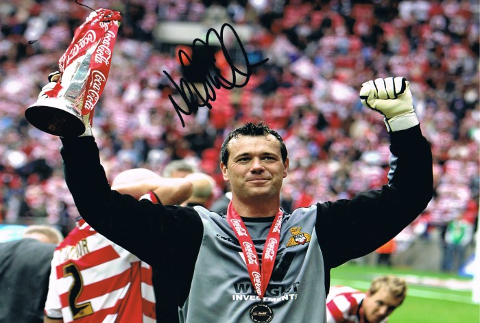 Signed Neal Sullivan Doncaster Rovers Photo