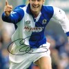 Signed Chris Sutton Blackburn Rovers Photo