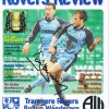 Signed David Kelly Tranmere Rovers Semi Final Programme