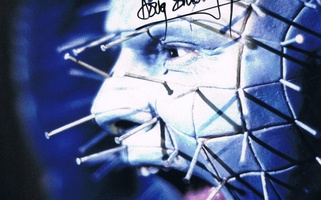 Signed Doug Bradley Pinhead Hellraiser Photo