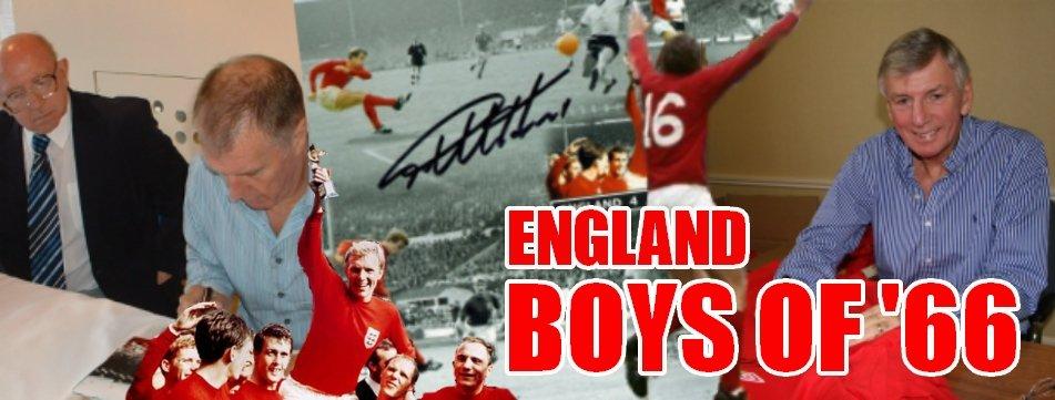 Signed England 1966 Memorabilia