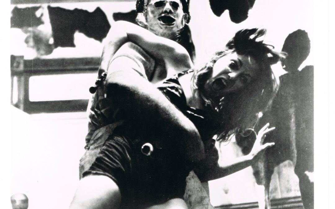 Signed Gunnar Hansen Leatherface Texas Chainsaw Massacre Film Photo
