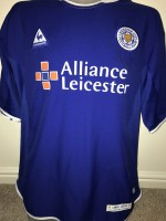 best sneakers e3628 3dff8 Signed David Kelly And Keith Gillespie Leicester City Shirt