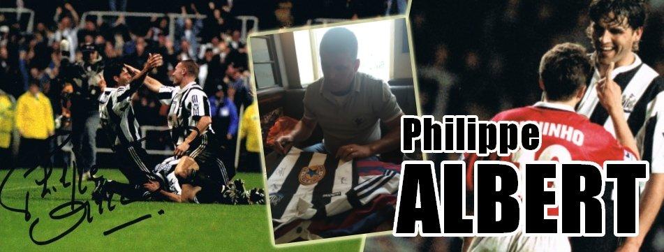 Signed Philippe Albert Memorabilia